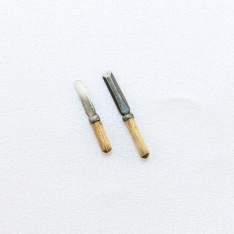 Ciseau à bois mini outil par deux