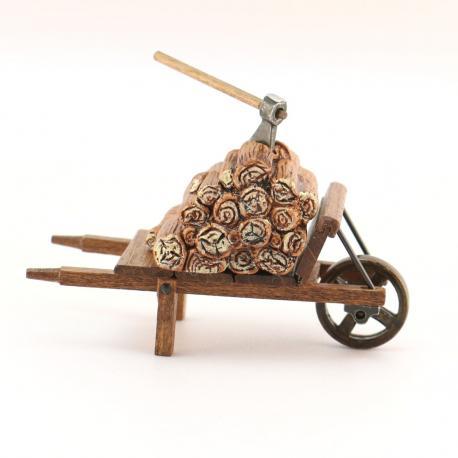 Bois Brouette, accessoire miniature