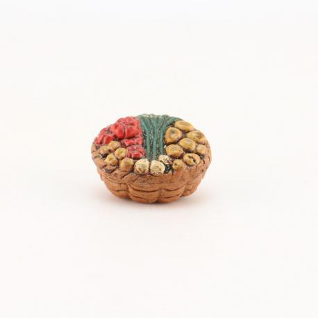 Panier de légumes, accessoire miniature