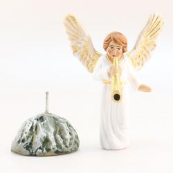 Santon Ange blanc
