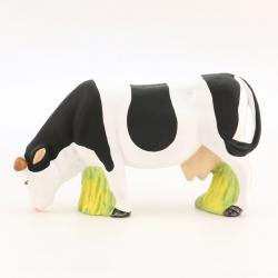 Vache Broutante Noire