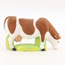 Vache Broutante Marron
