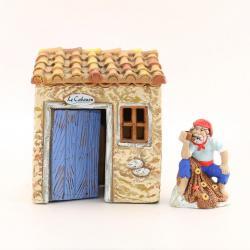 Cabanon, accessoire miniature