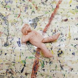 Santon non peint Hamac Homme