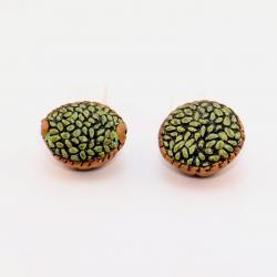 Panier d'olives, accessoire miniature