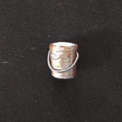 Seaux métal, accessoire miniature