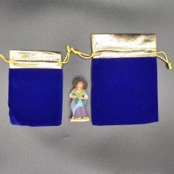 Pochette cadeau 2à3 santons