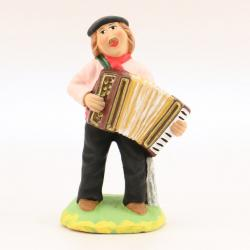 Santon Accordéoniste