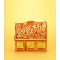 Etal Boulangère, accessoire miniature