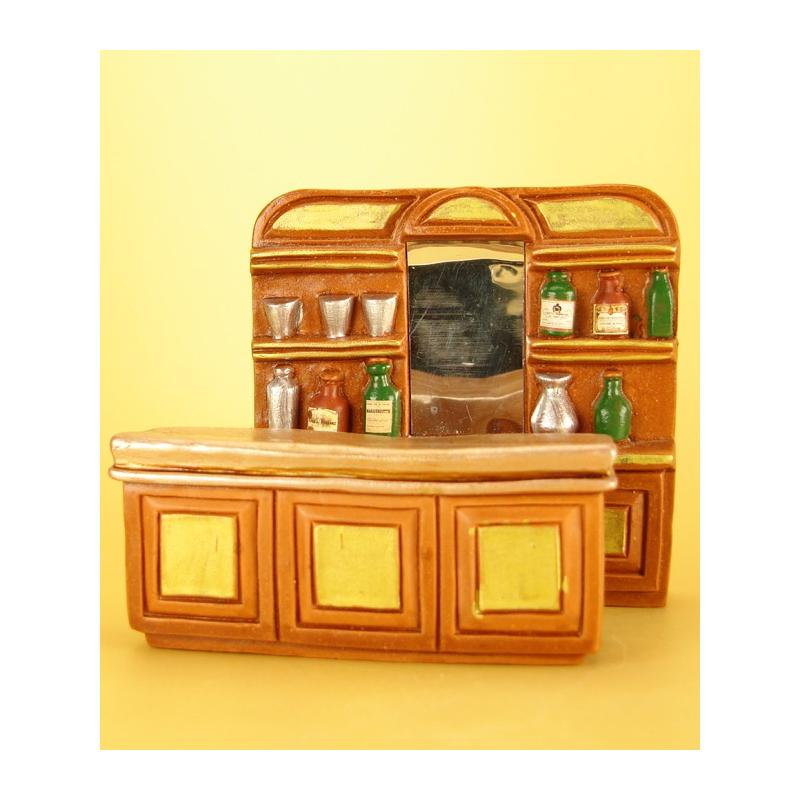 bar etag re accessoire miniature santons magali. Black Bedroom Furniture Sets. Home Design Ideas