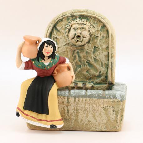 Fontaine, rectangulaire, accessoire miniature