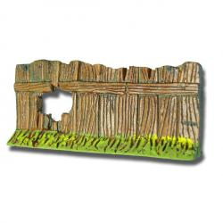 Barrière percée, accessoire miniature